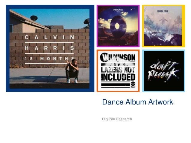 +  Dance Album Artwork DigiPak Research