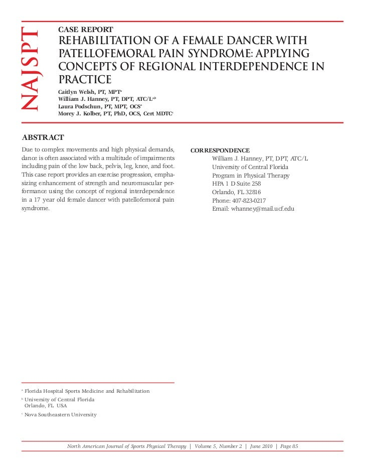 Dance regional interrelationships