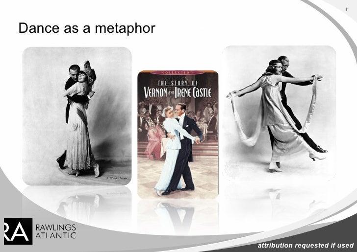 Dance as a metaphor