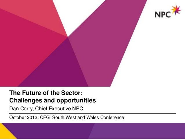 Opening plenary – The future of the sector - Dan Corry
