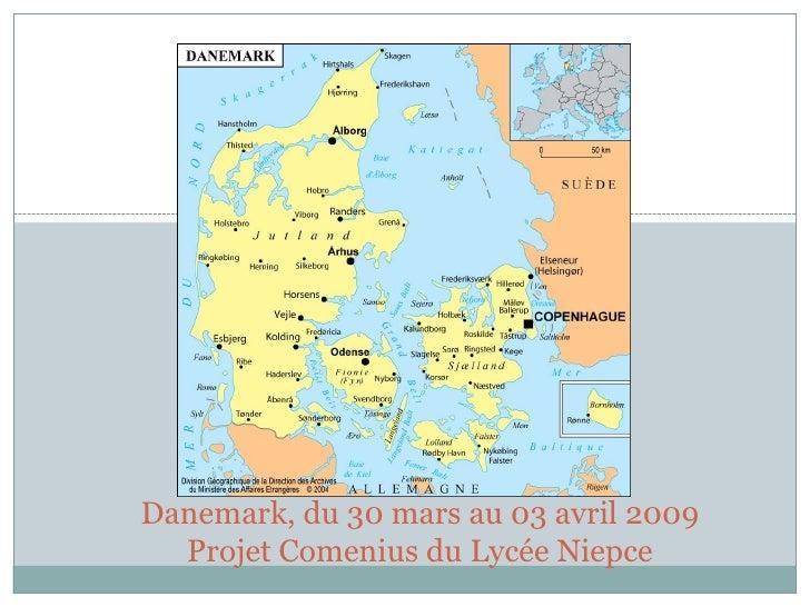 Danemark, du 30 mars au 03 avril 2009   Projet Comenius du Lycée Niepce