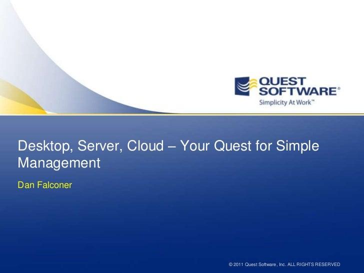 Quest Software - Dan Falconer