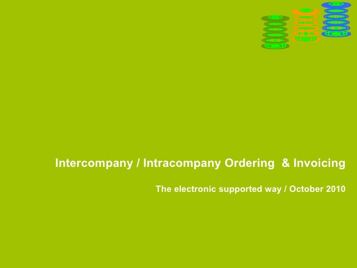 Danga Back-to-Back ordering & invoicing