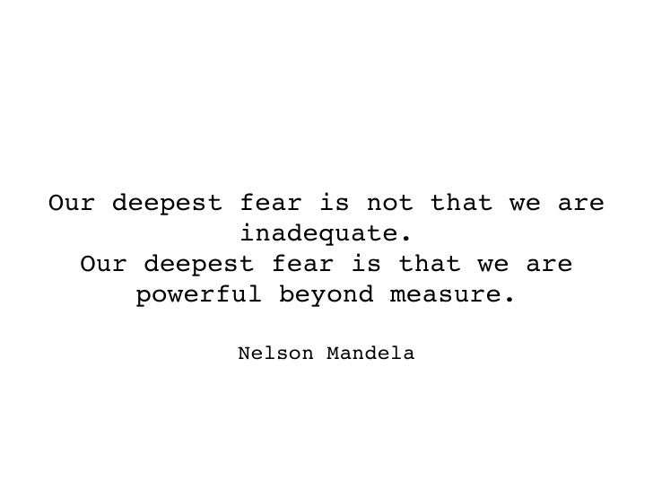 nelson mandela quotes our deepest fear pdf