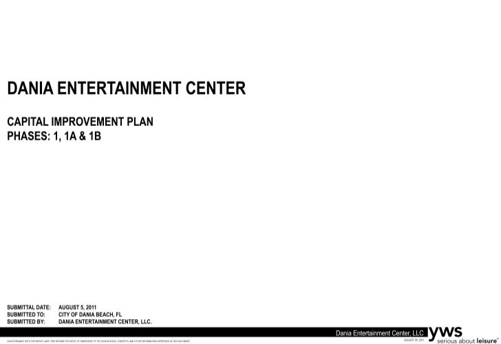 Dania Entertainment Plans Exhibit C