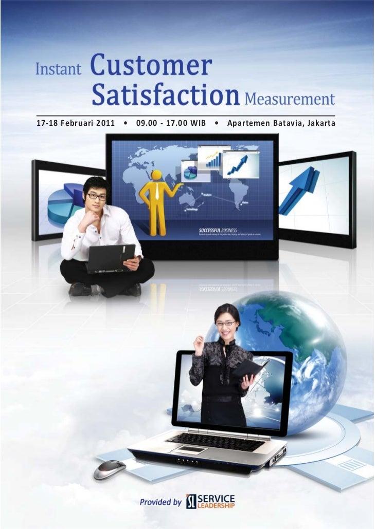 Instant customer-satisfaction by Daniel Saputro