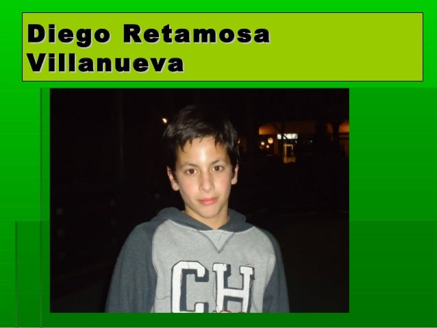 Diego RetamosaVillanueva