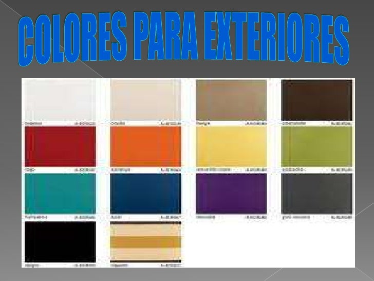 Danielagurado for Colores de pinturas para casas 2016