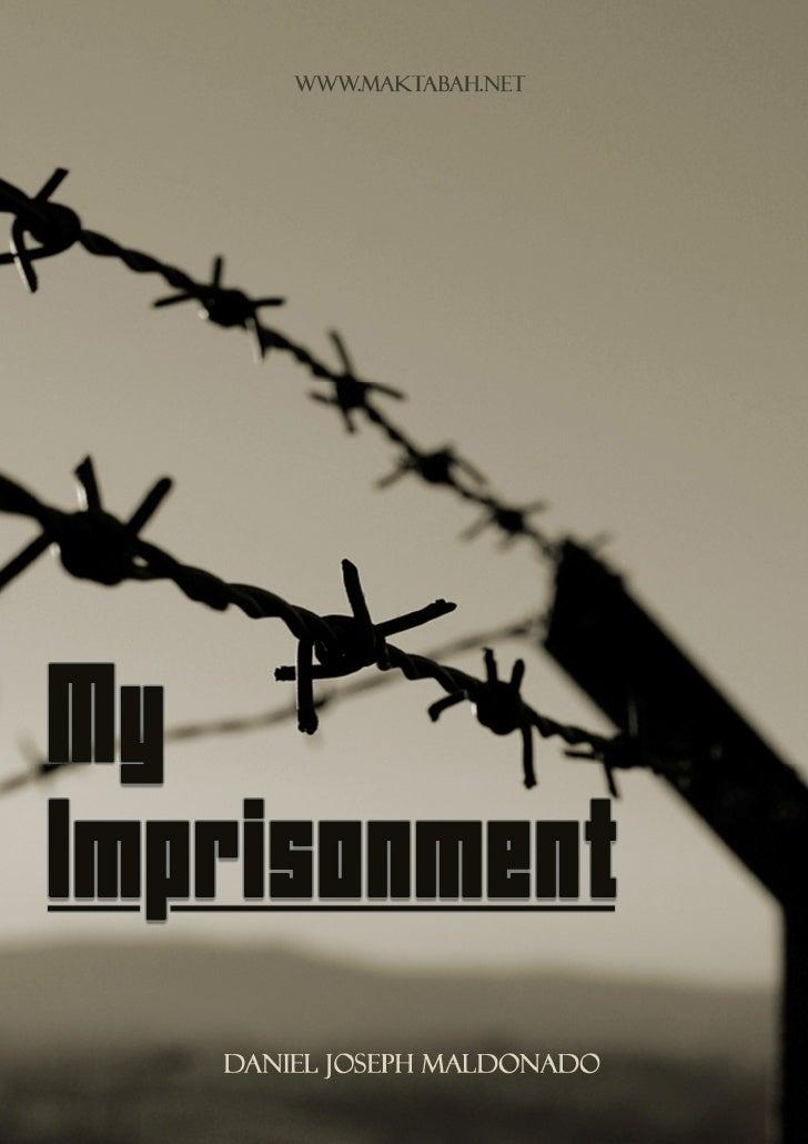 My Imprisonment - Daniel Maldonado