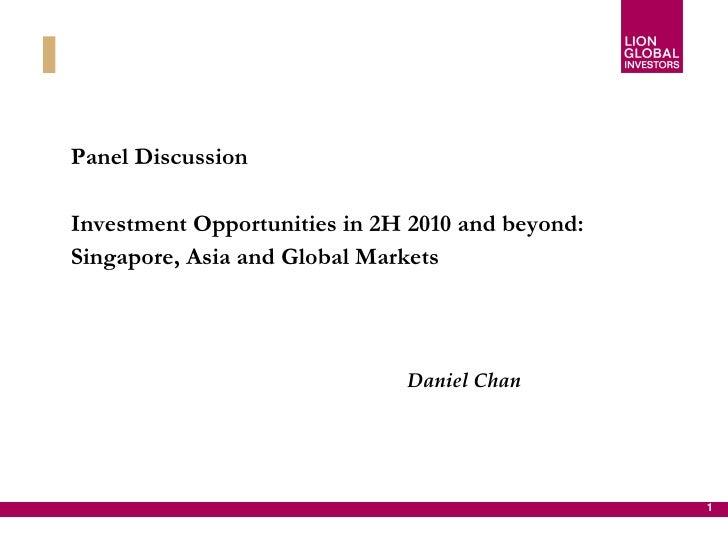 Daniel chan presentation on 22 may 2010