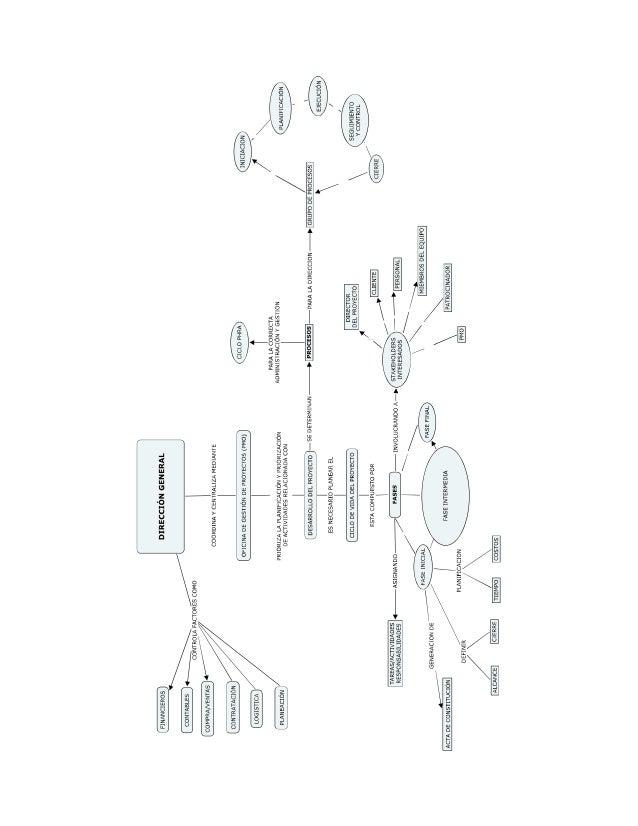 Mapa Mental Gerencia de Proyectos UDES