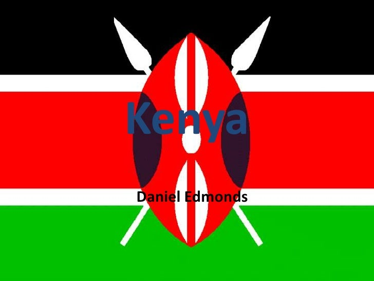 Kenya<br />Daniel Edmonds <br />