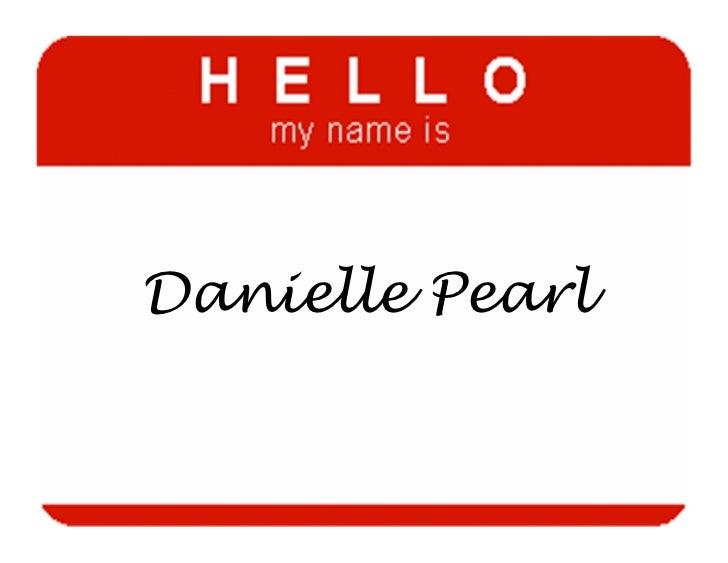 Danielle Pearl