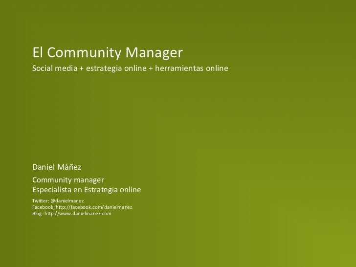 danielmanez_community manager
