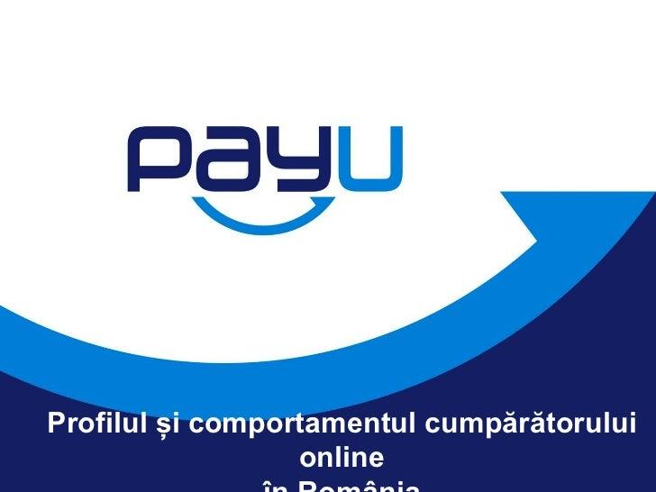 Daniel Nicolescu, Chief Product Officer, PayU: Profilul cumparatorului online