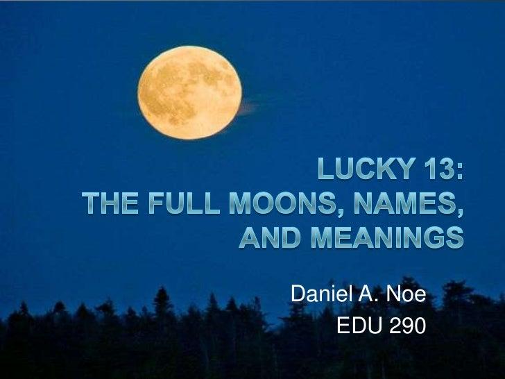 Daniel A. Noe    EDU 290