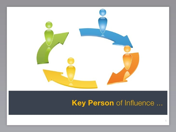 Key Person of Influence ...                               1