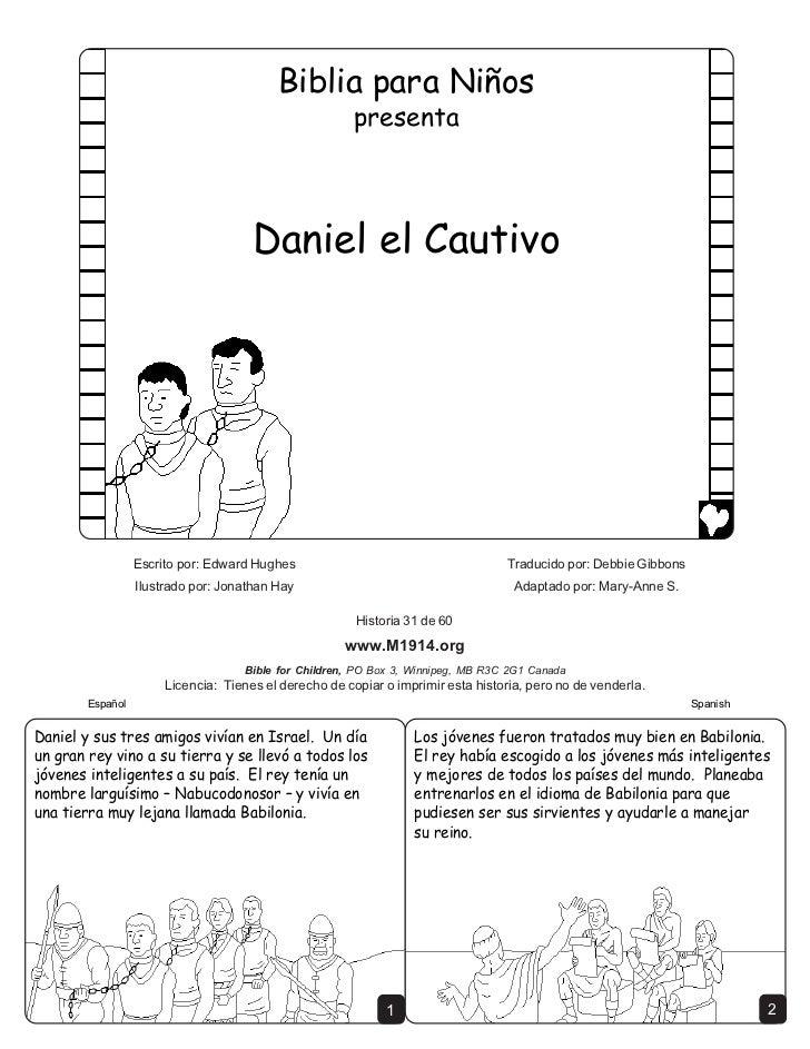 Daniel the captive spanish cb6