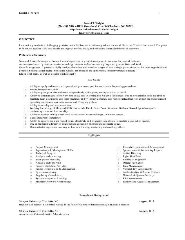 daniel tyvon  wright  resume pm