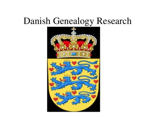 Danish Genealogical Research