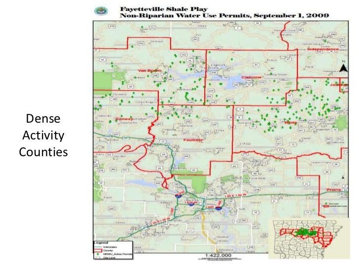 Dannielle Gray - Dense Activity Counties