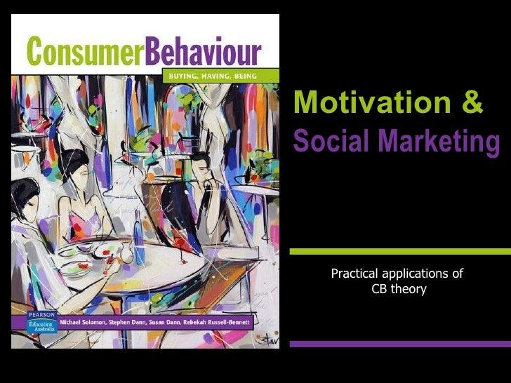 Motivation & Social Marketing