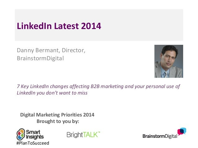 LinkedIn Latest Updates 2014