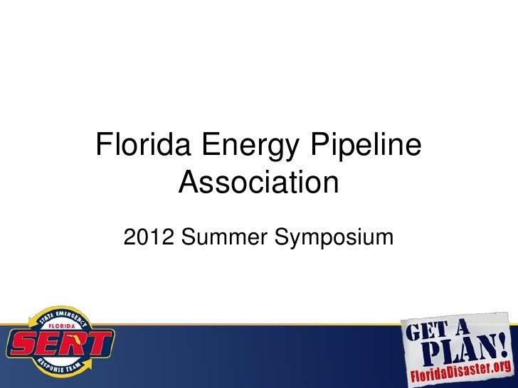 2012 FEPA Presentation: Danny Kilcollins