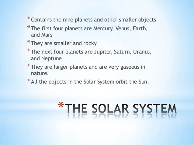 planets for grade 2 - photo #22