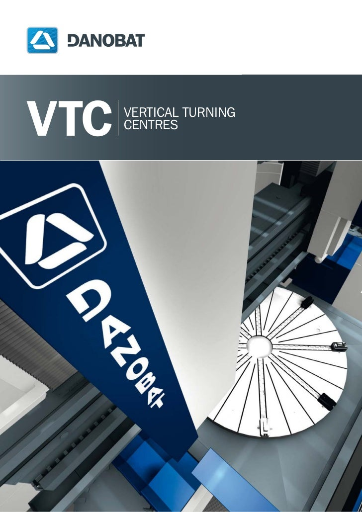 Danobat vertical turning center