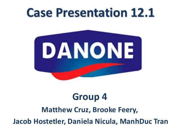 Global knowledge management at danone case study