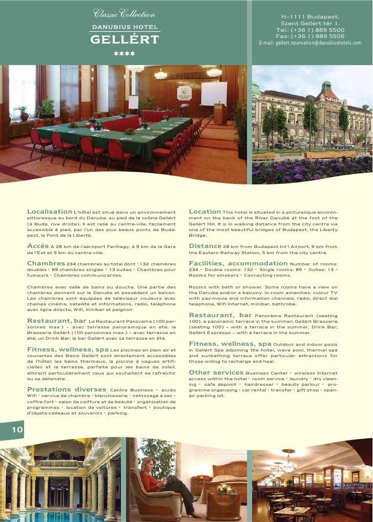 Danubius Hotel Gellert in Budapest, Hungary