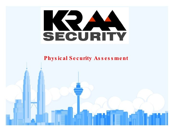Physical Security Assessment
