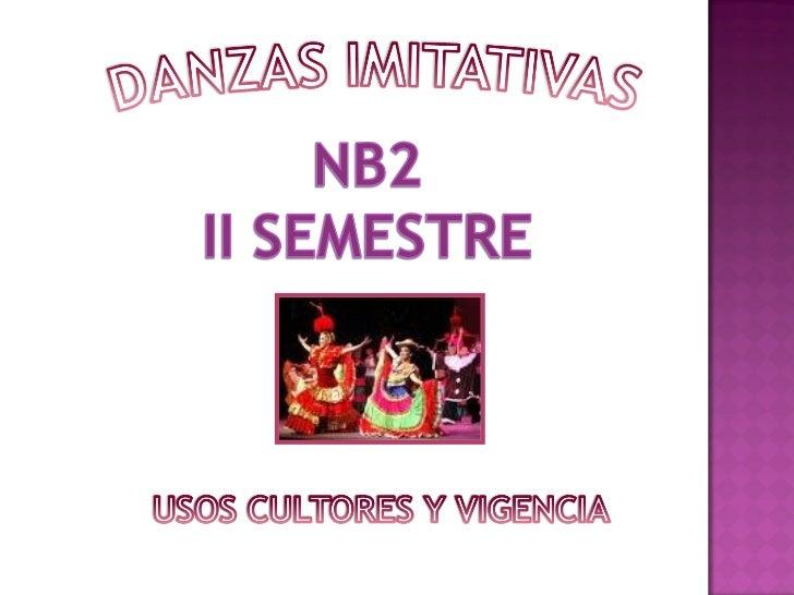 Las danzas imitativas o zoomórficas son aquellas que tienen su origen en los movimientos que realizan ciertos animales (Zo...