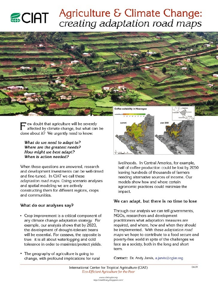 Dapa Adaptation Road Maps