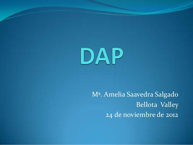 Mª. Amelia Saavedra Salgado              Bellota Valley    24 de noviembre de 2012