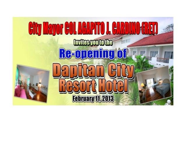 Dapitan City Resort Hotel Dapitan City Philippines Dapitan City Resort Hotel