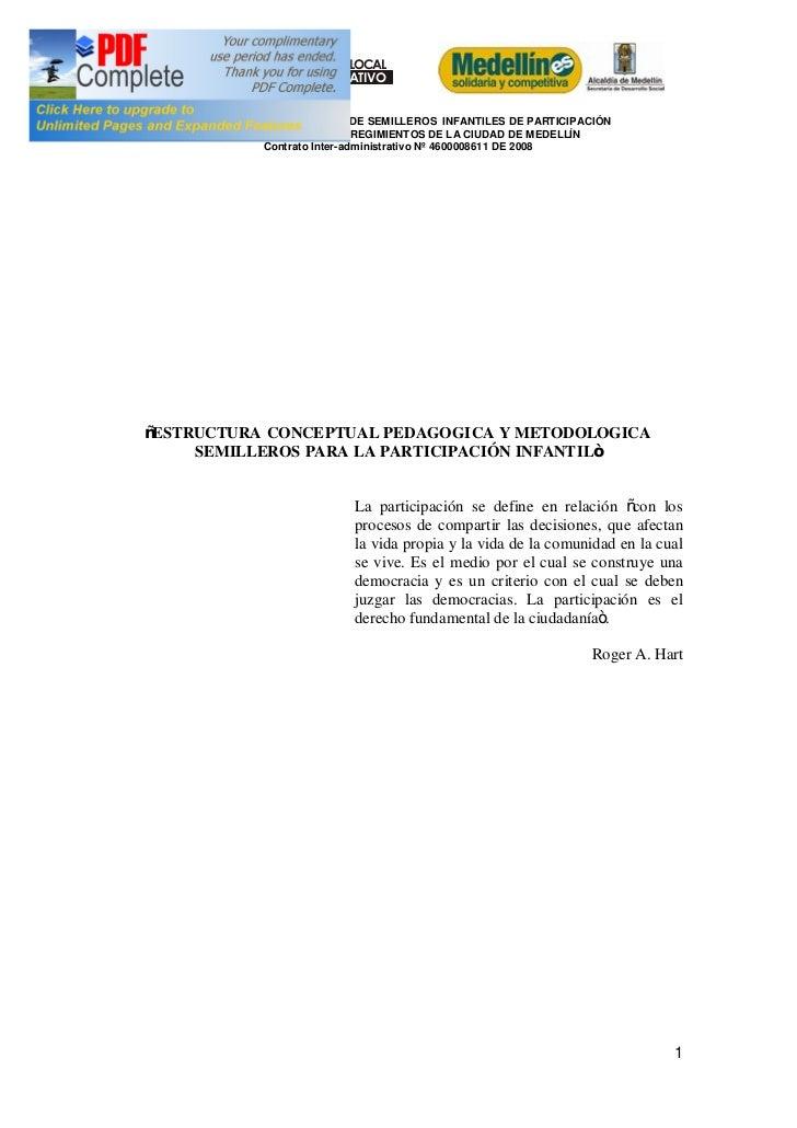 PROGRAMA PLANEACIÓN LOCAL     Y PRESUPUESTO PARTICIPATIVO            ¡Con Transparencia!   CREACI ÓN Y CONSOLIDACIÓN DE SE...