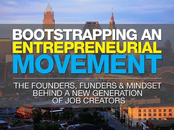 TEDxCLE - Dar Caldwell - Bootstrapping an Entrepreneurial Movement