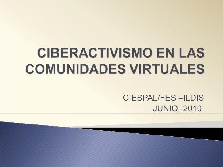 CIESPAL/FES –ILDIS JUNIO -2010