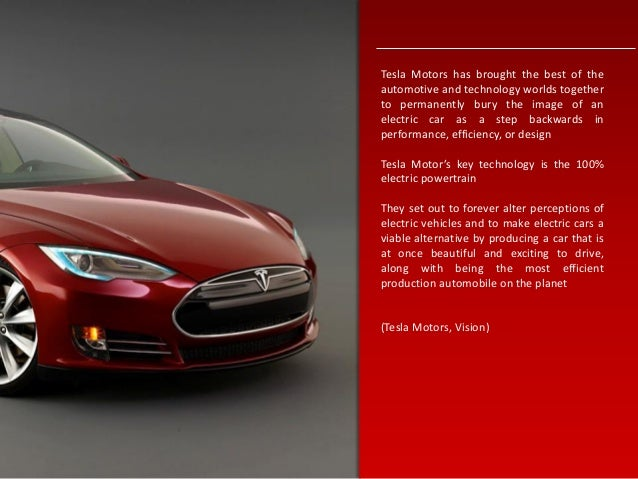 tesla company analysis Tesla's not about to  how tesla motors could be profitable if it  the company also wouldn't need to worry as much about expanding the .