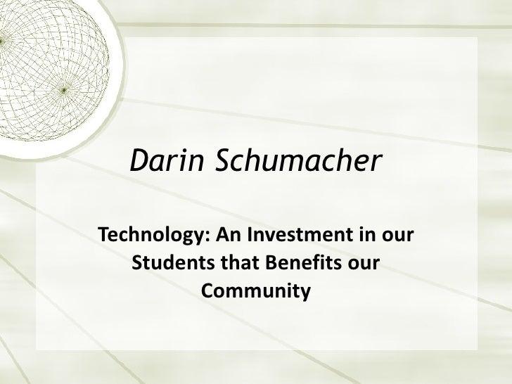 Darin schumacher pp_presentation