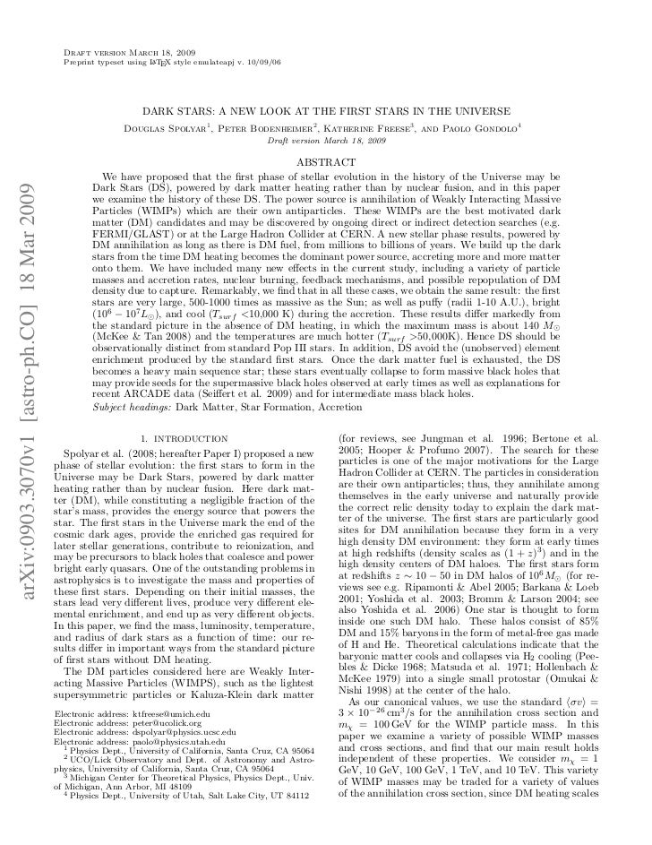 Draft version March 18, 2009                                                Preprint typeset using L TEX style emulateapj ...