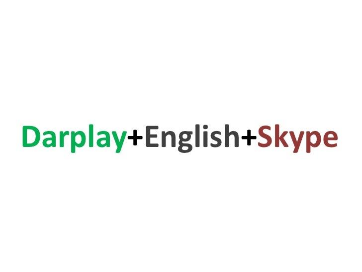 Darplay+English+Skype