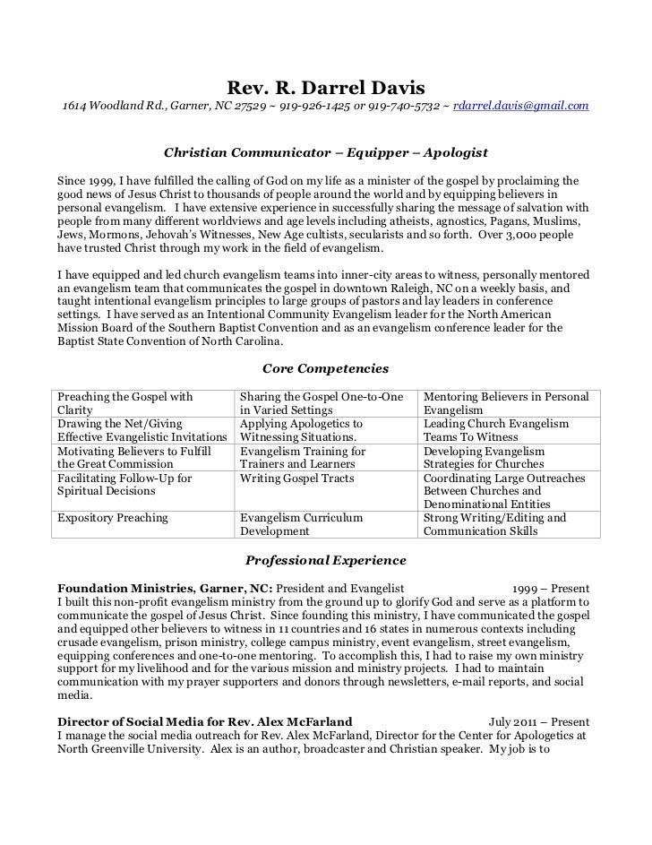 pastoral resume samples lead pastor resume samples resume samples ...