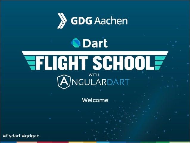 Welcome  #flydart #gdgac