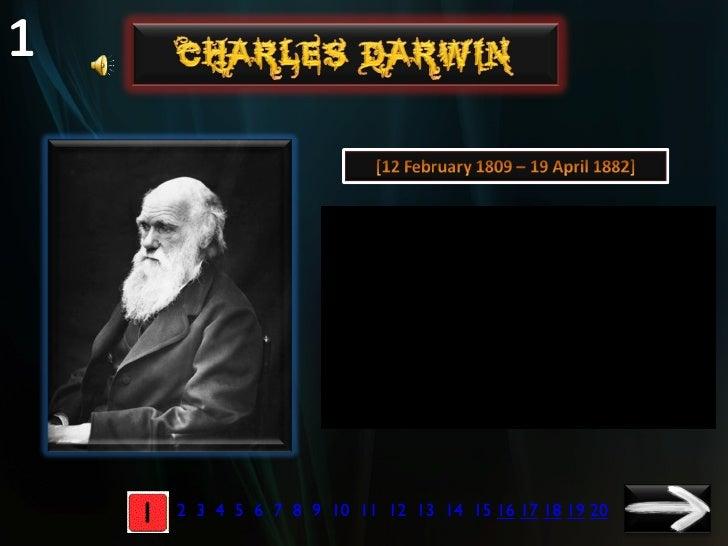 Charles Darwin PPT