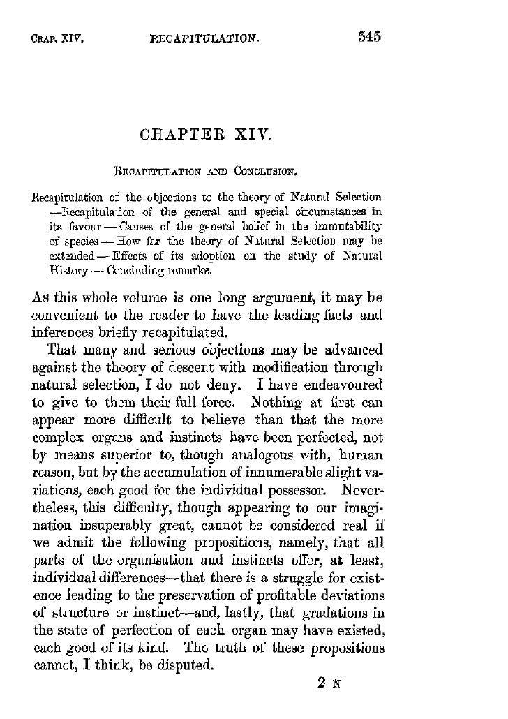 Darwin chapter 14