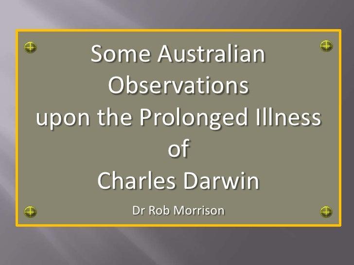 Darwin Illness