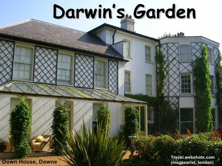 Down House, Downe Darwin's Garden Travel.webshots.com  (magpearlst, london)